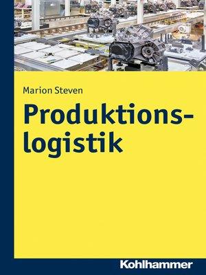 cover image of Produktionslogistik
