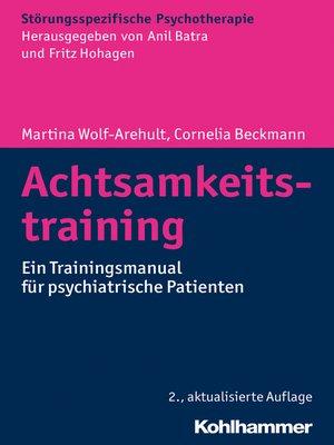 cover image of Achtsamkeitstraining