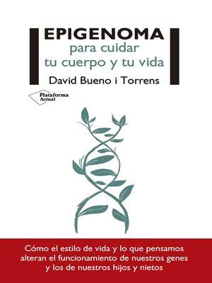 cover image of Epigenoma