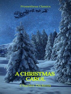cover image of A Christmas Carol (Best Navigation, Active TOC)(Prometheus Classics)