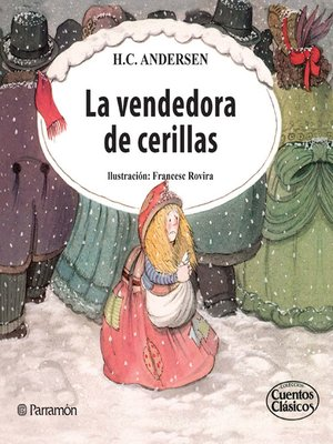 cover image of La vendedora de cerillas