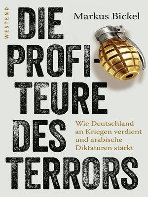 cover image of Die Profiteure des Terrors