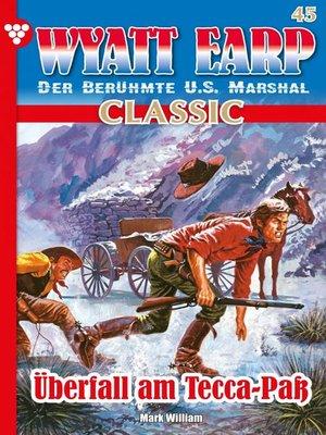cover image of Wyatt Earp Classic 45 – Western