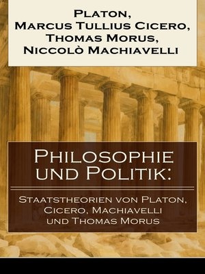 cover image of Philosophie und Politik