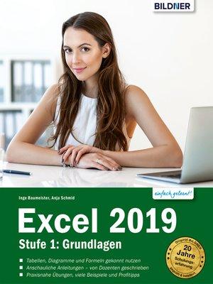 cover image of Excel 2019--Grundlagen für Einsteiger