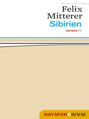 cover image of Sibirien