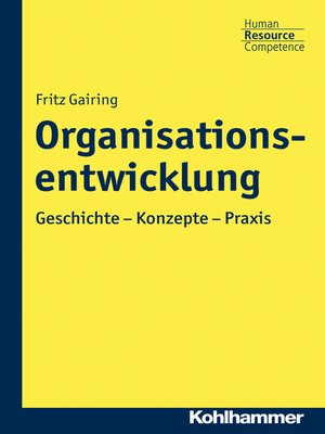 cover image of Organisationsentwicklung