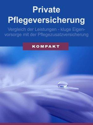 cover image of Private Pflegeversicherung