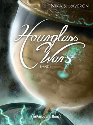 cover image of Hourglass Wars--Jahr der Flamme (Band 1)