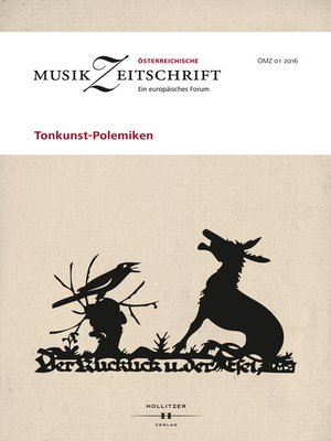 cover image of Tonkunst-Polemiken
