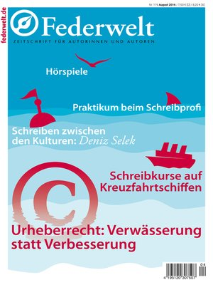 cover image of Federwelt 119, 04-2016