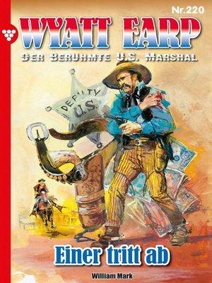 cover image of Wyatt Earp 220 – Western