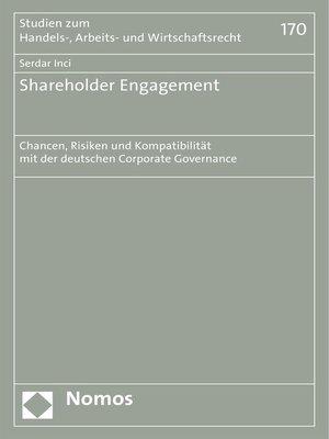 cover image of Shareholder Engagement