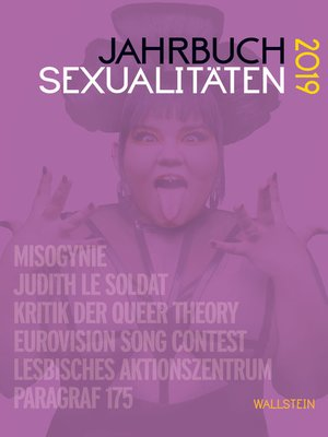 cover image of Jahrbuch Sexualitäten 2019