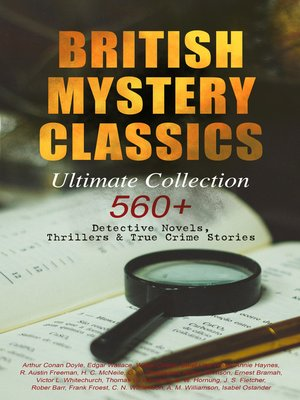 cover image of BRITISH MYSTERY CLASSICS--Ultimate Collection