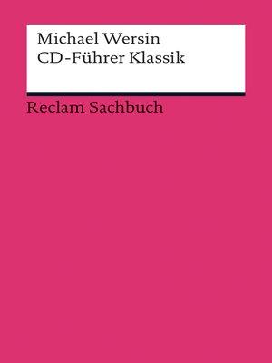 cover image of CD-Führer Klassik