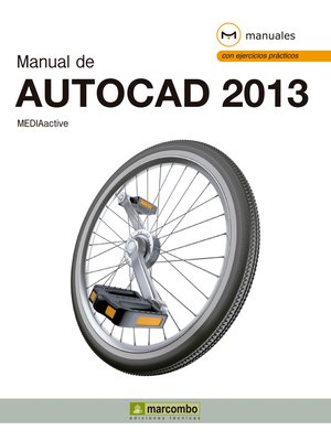cover image of Manual de AutoCAD 2013