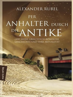 cover image of Per Anhalter durch die Antike