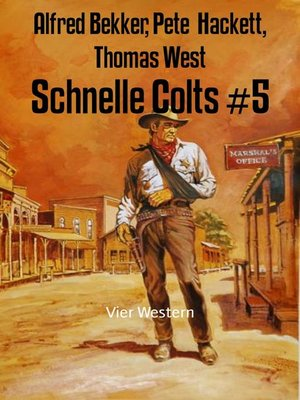 cover image of Schnelle Colts #5