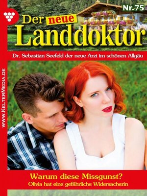 cover image of Der neue Landdoktor 75 – Arztroman