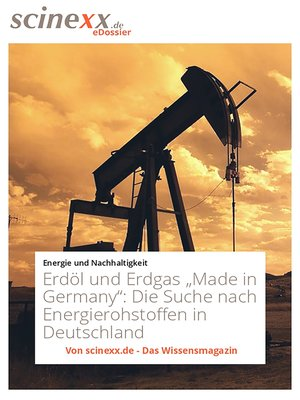 "cover image of Erdöl und Erdgas ""Made in Germany"""