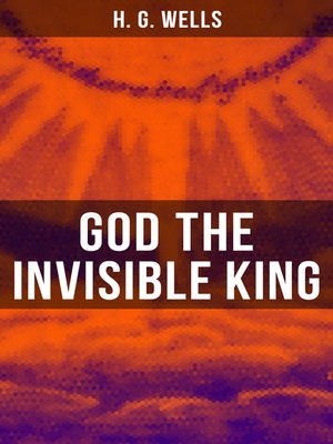 cover image of GOD THE INVISIBLE KING