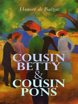 cover image of Cousin Betty & Cousin Pons