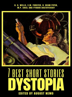 cover image of 7 best short stories--Dystopia