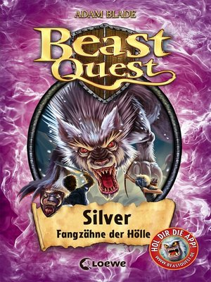 cover image of Beast Quest 52--Silver, Fangzähne der Hölle