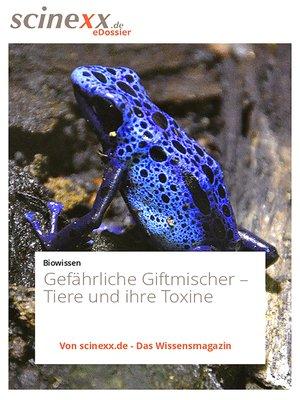 cover image of Gefährliche Giftmischer