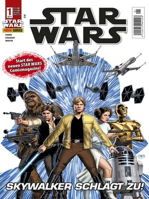 cover image of Star Wars Comicmagazin, Band 1--Skywalker schlägt zu