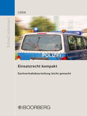 cover image of Einsatzrecht kompakt