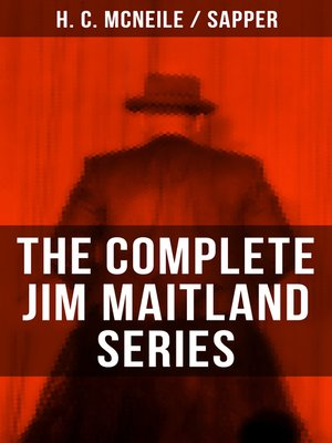 cover image of THE COMPLETE JIM MAITLAND SERIES