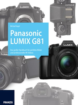 cover image of Kamerabuch Panasonic Lumix G81