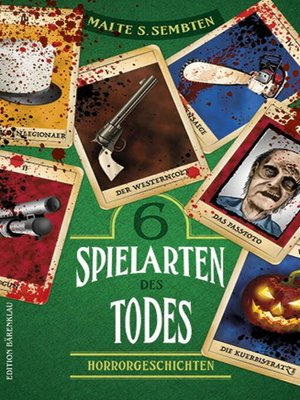 cover image of 6 Spielarten des Todes