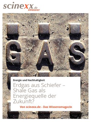 cover image of Erdgas aus Schiefer