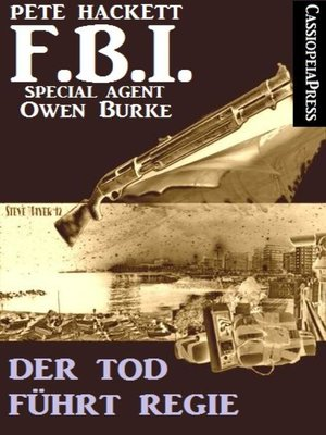 cover image of Der Tod führt Regie (FBI Special Agent)