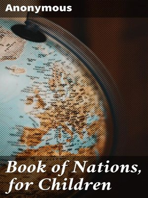 cover image of Book of Nations, for Children