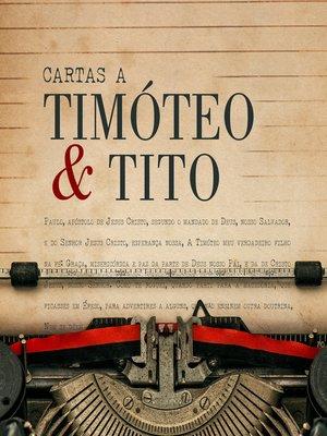 cover image of Cartas a Timóteo e Tito
