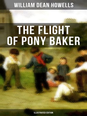 cover image of The Flight of Pony Baker (Illustrated Edition)