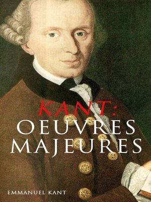 cover image of KANT