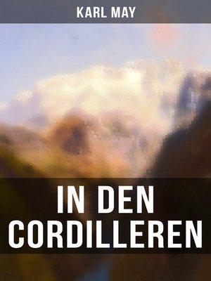 cover image of In den Cordilleren