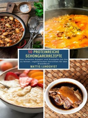 cover image of 50 Proteinreiche Schongarerrezepte