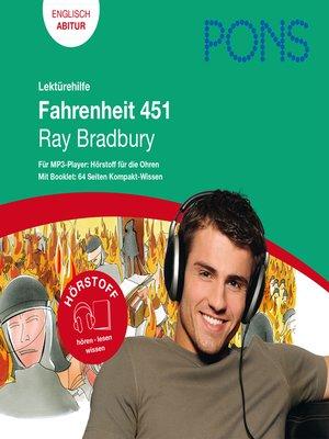 cover image of PONS Lektürehilfe--Ray Bradbury, Fahrenheit 451