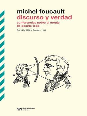cover image of Discurso y verdad