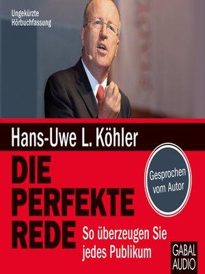 cover image of Die perfekte Rede
