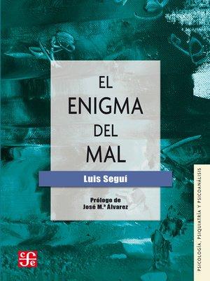 cover image of El enigma del mal