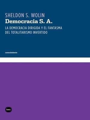 cover image of Democracia S. A.