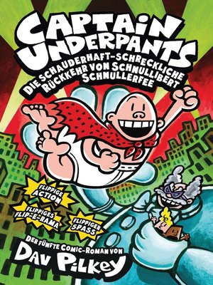 cover image of Captain Underpants, Band 5