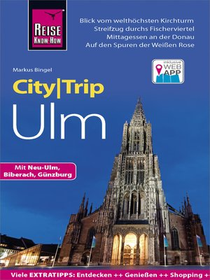 cover image of Reise Know-How CityTrip Ulm